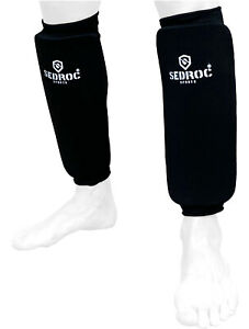 Sedroc Shin Guards Protective Leg Sleeves Kid Youth Adult Karate MMA Sparring