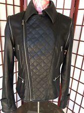 Bagatelle City Moto Leather Jacket 2 in 1 Women Sz M Medium Style# 61575