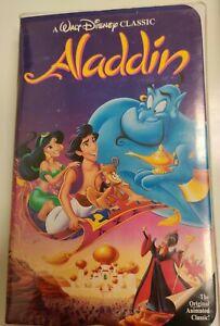 Aladdin (VHS, 1993) Black Diamond Edition Classic HTF OOP RARE!