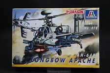 XY136 ITALERI 1/144 maquette helicoptere 878 Longbow Apache AH-64B
