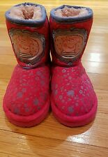 PEPPA PIG Boots Girl Toddler SIZE 5  Warm