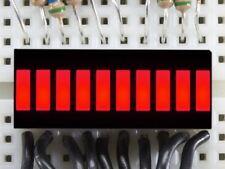 Adafruit 10 Segmento Pantalla LED de gráfico de barra de luz-Rojo [ADA1921]