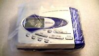 VINTAGE SHARP MINIDISC WALKMAN PLAYER RECORDER MD-SR50