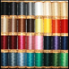 GUTERMANN 100% NATURAL COTTON SEWING THREAD 100M SPOOLS MACHINE AND OVERLOCKER