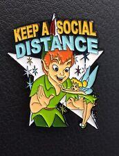 Peter Pan Tinkerbell Pin Keep A Social Distance Fantasy Pin 2020 Disney Pin
