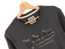 rp1875 G-Star Raw camiseta original PREMIUM SKATEBOARDING logo R T GRIS TALLA L