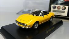 KYOSHO  Scale 1:64  Fiat  Dino  Spider  1966  Yellow   Used