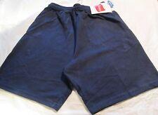 Hanes Jogging  Short Small Navy Color  2 pocket 100 % Cotton Jersey Material