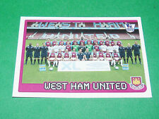 N°597 WEST HAM UNITED ENGLAND MERLIN PREMIER LEAGUE FOOTBALL 2007-2008 PANINI