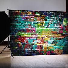 Fotografía Fondo 1.5x2.1m Retro Pared De Ladrillos Backdrop Papel Pintado