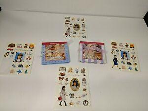 American Girl Mini Playset Books Felicity & Kristen & Pleasant Company Stickers