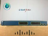 Cisco WS-C3560-24TS-S • 24 Port Gigabit Network Switch ■ SAME DAY SHIPPING ■
