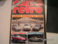 ** Auto Moto Retro n°60 Maserati Quattroporte / Ford Tunderbird 1957