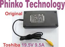 19V DC 9.5A 180W AC Adapter For TOSHIBA Laptop Power Cord Charger 4-Pin