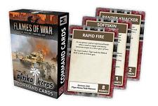Flames of War Nuevo Y En Caja Afrika Korps comando tarjetas FW242C
