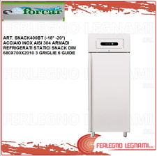 Cabinet Chilled Gn2/1 Static Snack Stainless Steel 18 -20°) Forcar Snack400Bt