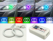 WIFI RGB For Mazda 3 Projector 2010-2013 Cotton LED Angel Eye Halo Ring Lamp DRL