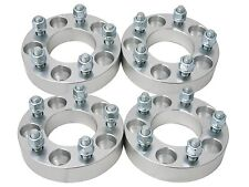 """(4pc) 2"""" (1"""" per side) 5X100 to 5x112 Wheel Spacers Adapters M12x1.5 studs"""