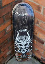 TONY HAWK SIGNED AUTHENTIC BIRDHOUSE 'GLADIATOR' SKATEBOARD DECK B w/COA PROOF