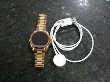 Michael Kors MKT5004 Access Bradshaw Rose Gold Stainless Steel Smartwatch