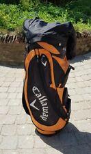 Orange & Black CALLAWAY Golf Club Trolley Cart Bag with Hood