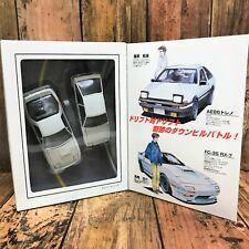Initial D Comic Tomica EX 1/43 AE86 Trueno, 1/43 RX-7 FC 3 S Tomy
