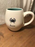 Brand NEW Rae Dunn Beach Sea Nautical Ocean Discover, Crab Coffee Mug Cup