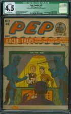 Pep Comics 42 CGC 4.5 - OW Pages - Qualified