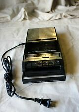 Ge 3-5151B portable Cassette Player/Recorder 3 Way Power Ac Dc battery