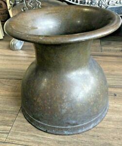 Antique Brass Spittoon Arcade Mfg. Co. No. 401 Freeport IL
