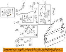 HONDA OEM Front Door-Handle, Outside Snap Ring 72123SR0003