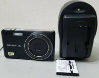 Olympus V Series VG-150 12.0MP Digital Camera - Black *GOOD/TESTED*