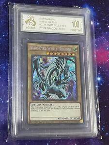 Blue-Eyes White Dragon (Holo, Graded 100/100)