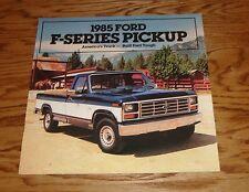 Original 1985 Ford Truck F-Series Pickup Sales Brochure 85 F-150 250 350