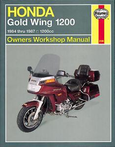 Reparaturhandbuch / -anleitung Honda GL 1200 Gold Wing 1984, 1985, 1986 & 1987