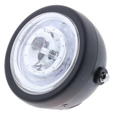 Universal 6'' Motorcycle Chrome Round Projector Hi/Lo LED Headlight