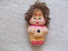 """VINTAGE KARLSSON ON THE ROOF CHARACTER RUBBER DOLL TOY 6.5"""" RED SHOES"""