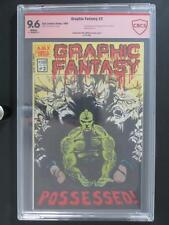 Graphic Fantasy #2 - CBCS 9.6 NM+ AJAX 1982 - 2nd App The Dragon (Signed) Larsen