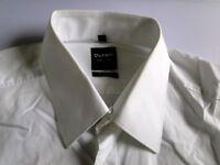 Olymp Level 5 Body Fit Herren Hemd Langarm Weiß Unifarben KW40