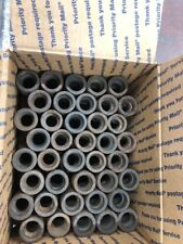 "LOT OF 80 3/4"" Socket Weld Black Forged Steel  Coupler Made In Italy"