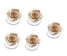 Haarschmuck Hochzeit Achberger 5 Rosen Curlis Brautschmuck champagner 7,98€/St