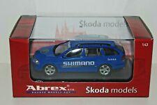 Abrex 1/43 SKODA OCTAVIA RACE SUPPORT CAR Tdf TOUR de FRANCE - SHIMANO