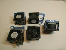 Lot of 5 Dell PowerEdge 2850 Server Case CPU Fans W5451 H2401 Cooling Fan