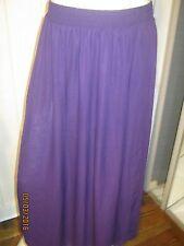 american apparel full lenght chiffon skirt xs/s