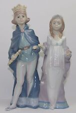 "LLADRO ""MEDIEVAL MAJESTY"" #6116 FIGURINE ~ KING AND QUEEN ~ MINT W/BOX ~ ~"