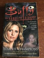 BUFFY THE VAMPIRE SLAYER TEMPTED CHAMPIONS BOOK BTVS