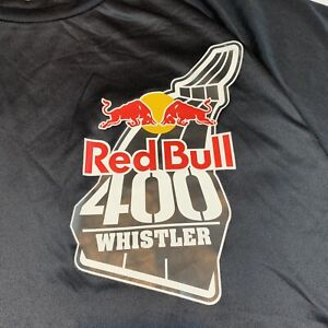 Red Bull 400 Whistler Mountain Uphill Race World Championship T Shirt Large L