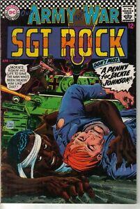 DC Our Army at War #179 1967 W: Robert Kanigher A: Joe Kubert