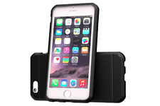 iPhone 6 Case, [SLIM FIT ARMOR] Best Protective Hard Phone Cover - Black
