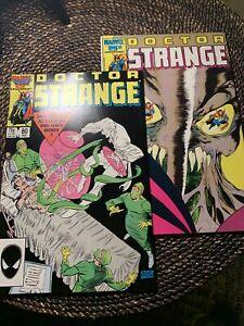 Doctor Strange #80 & 81 (2nd Series) 1st Cameo & Full App of Rintrah High Grade